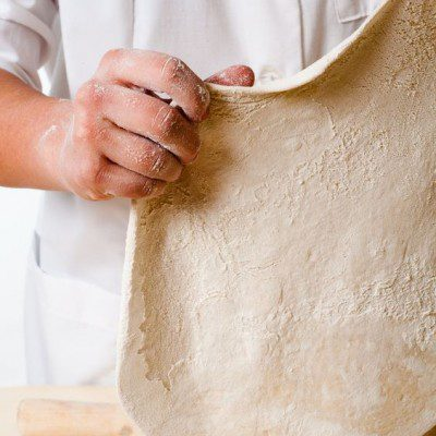 A fairnograph analyzes the properties of flour in relation to dough.