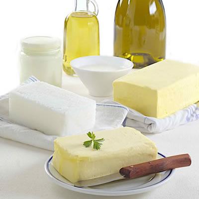 assorted baking fats