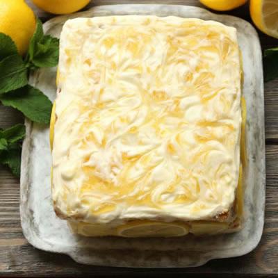 frosted lemon cake