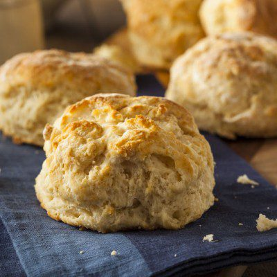 Biscuit shortening flakes help give products a flaky texture.