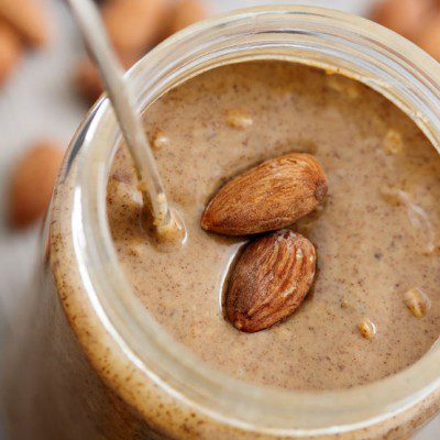 Almond butter can be made from a variety of types of almonds.