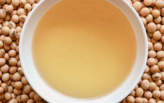 Soybeans work as a great plant-based emulsifier alternative.