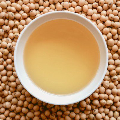 Soybeans work as a great plant-based emulsifier alternative.