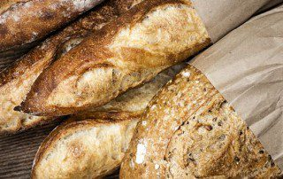 When you score bread, it helps visually and with crust development.
