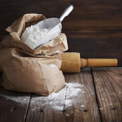 scoop of all purpose flour