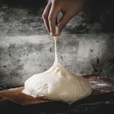 flexible bread dough