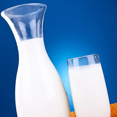 carafe of milk | glass of milk