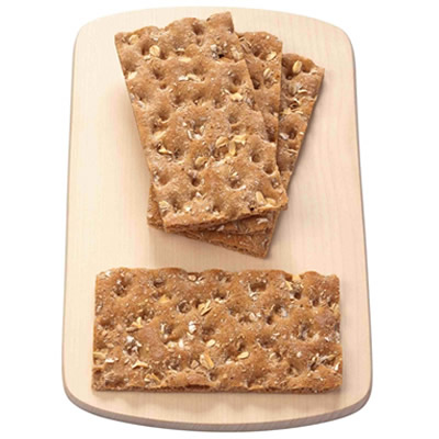 multi-grain wheat crackers