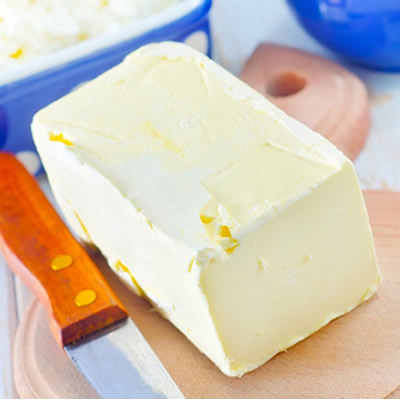 saturated fat in the form of butter